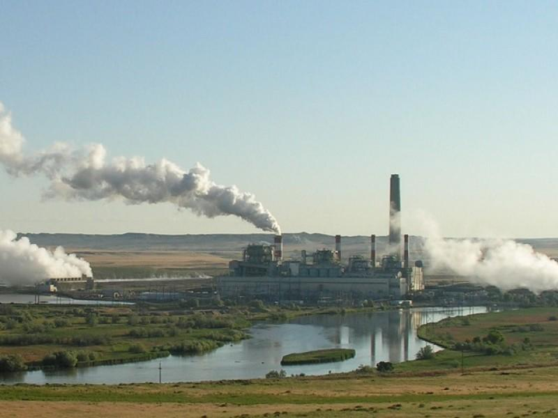 A coal plant in Wyoming