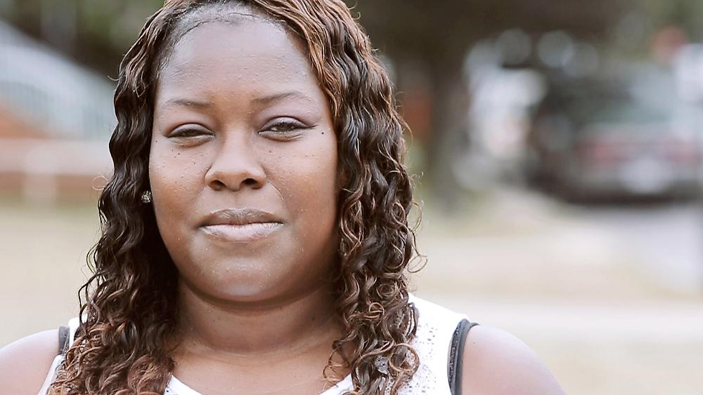 Photo of Akeeshea Daniels, community activist in East Chicago, Indiana