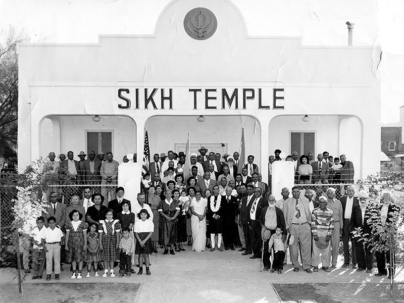 The El Centro, Calif. Sikh Temple, photographed in 1951.