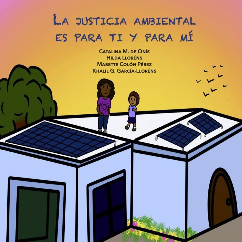 The cover of Environmental Justice Is for You and Me illustrated by Mabette.